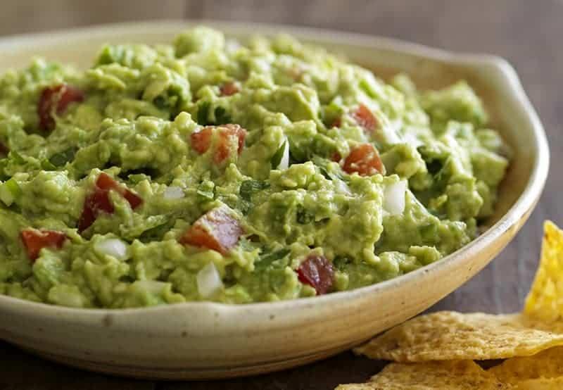 Mexikanische Vorspeisen: das beste Rezept für Guacamole
