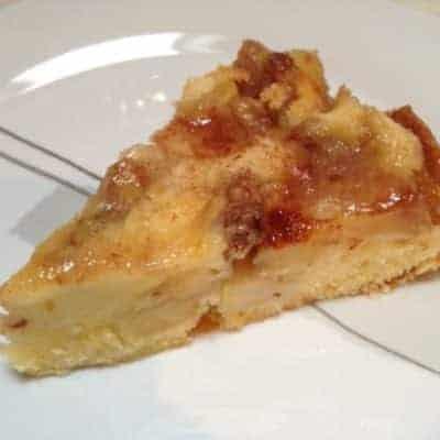 Backen mit Äpfeln Walnuss-Apfelkuchen