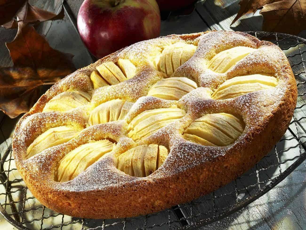 Rezept versunkener Apfelkuchen – tolles Dessert für jeden Anlass