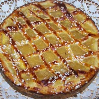 Apfelriemchen Rezept mit Aprikosenmarmelade und Hagelzucker