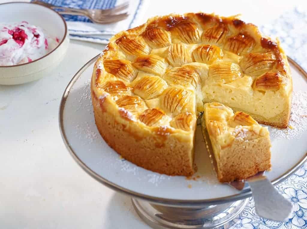 Kuchen Servieren