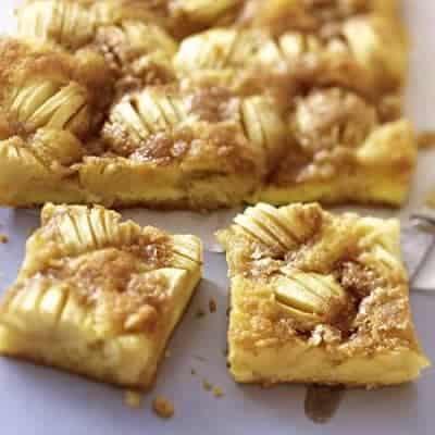 Backrezepte: Apfelkuchen vom Blech