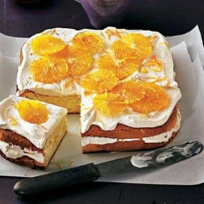 Brigitte Rezepte Kuchen Orangenkuchen mit Tonkacreme