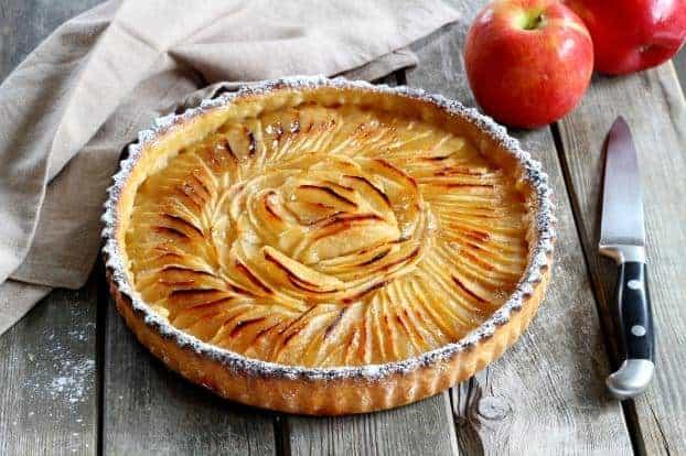 Die besten Apfelkuchen Rezepte – Tarte aux Pommes