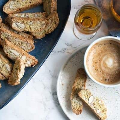cantuccini rezept, italienische mandelkekse