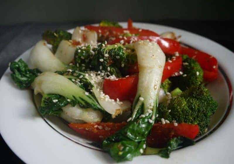 Gemüsepfanne zum Abnehmen – Ihr schönes Abendessen
