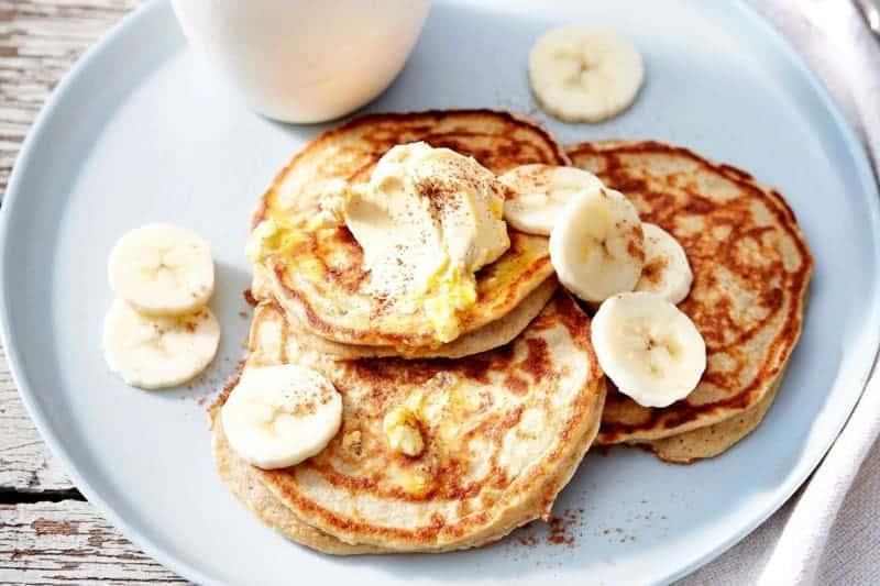 Pancake ohne Mehl mit Bananen