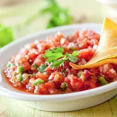 mexikanischer Dip Salsa Soβe