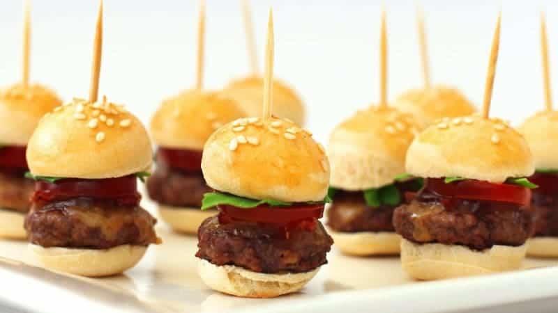 Mini Hamburger selber machen