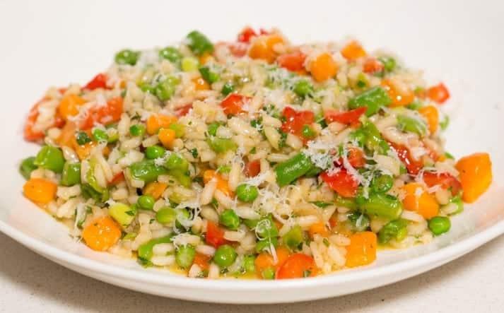 Reis mit Gemüse Rezept Alla Primavera