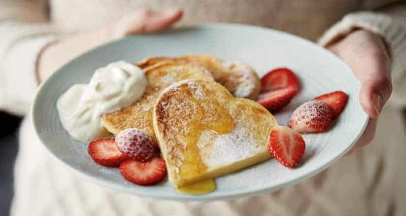 Frühstück zum Valentinstag selber zunereiten