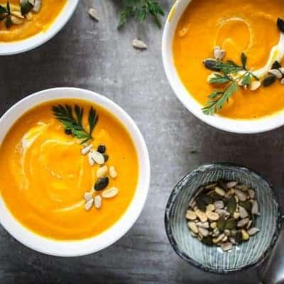 Möhren Ingwer Suppe mexikanisch