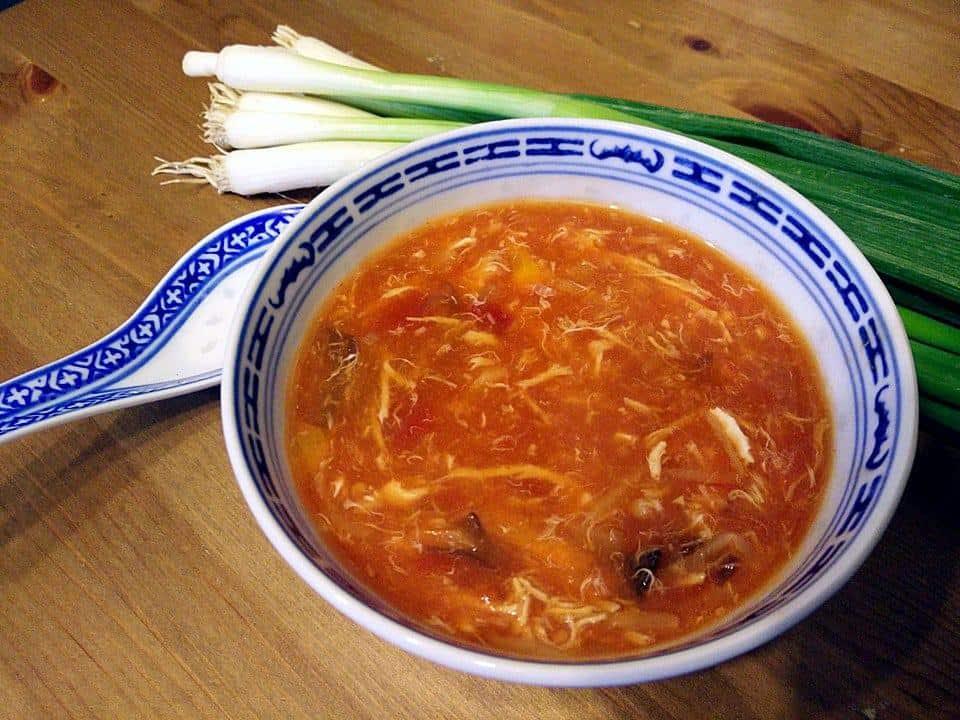 Das chinesische Originalrezept für sauer-scharfe Pekingsuppe