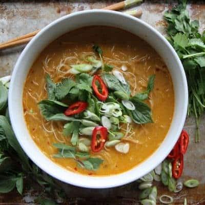 Thai Suppe lecker Originalrezept