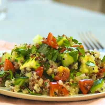 pikantes Avocado salat brazilianisches Rezept