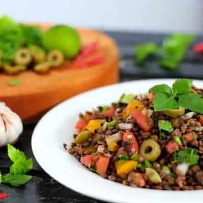 Linsensalat arabisches Rezept