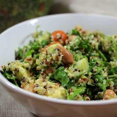 Quinoa Salat mit Gurke Rezept gesund