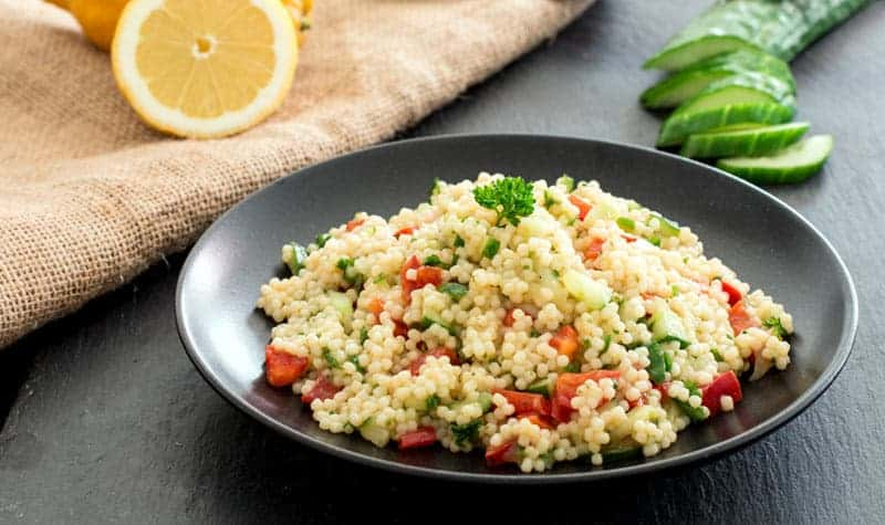 Couscous Salat zubereiten nach orientalischer Art – schmackhaftes Rezept