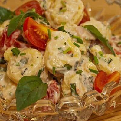 Tortellini Salat italienisches Rezept
