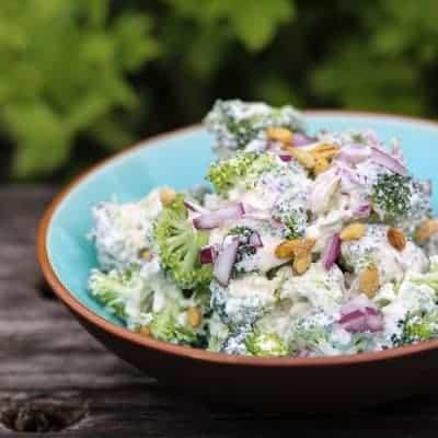 Brokkolisalat selber zubereiten