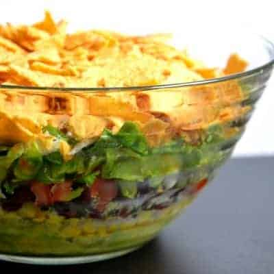 mexikanischer Schichtsalat Originalrezept