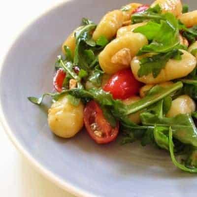 Gnocchi Salat italienisches Rezept