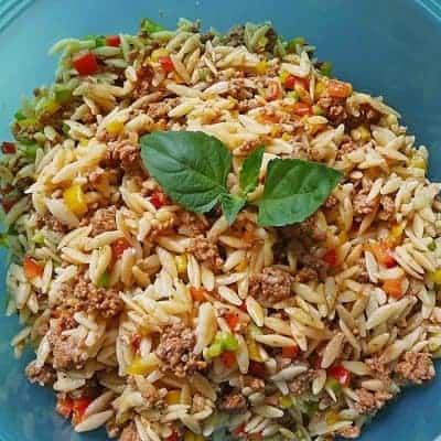 Kritharaki Salat Rezept