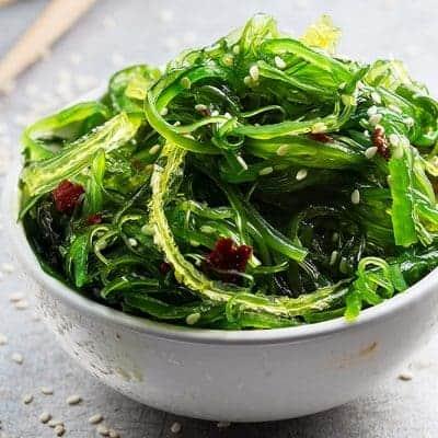japanischer Wakame Salat