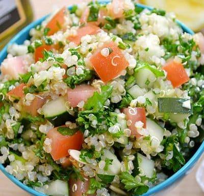 salat mit quinoa