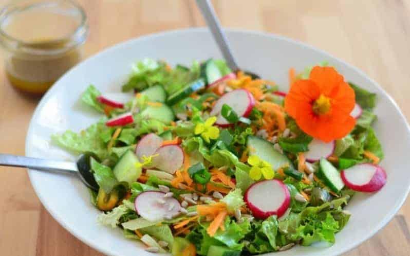 Gemischter Salat zubereiten – bunte Idee für den Frühling