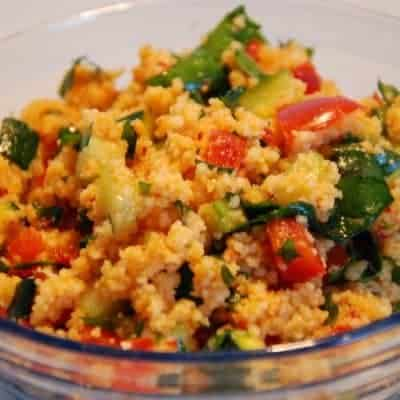 Kuskus Salat orientalisches Rezept