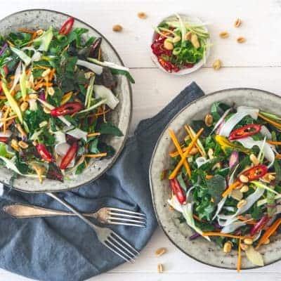 Mangold Salat Rezept