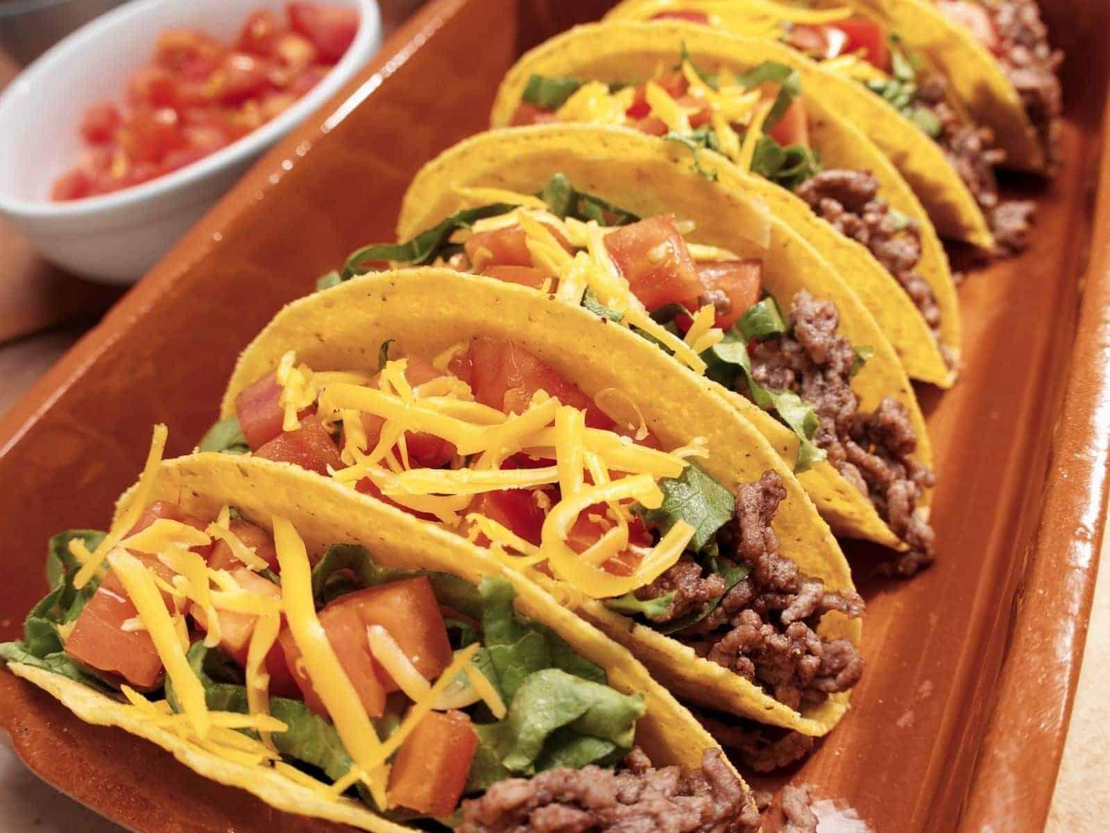 Tacco Salat mexikanisches Originalrezept