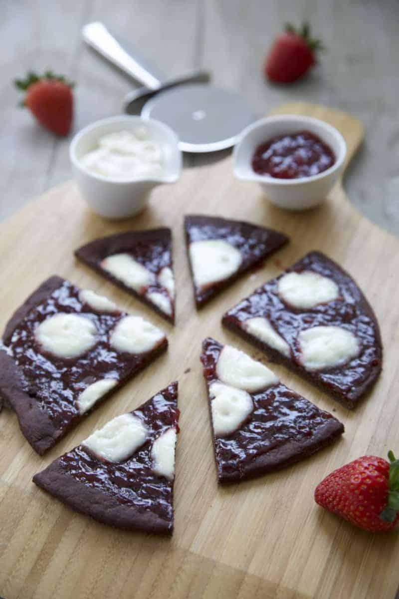 Süße Pizza Schokolade selber zubereiten: Wie geht es?