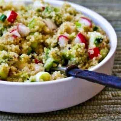 Quinoa Salat selber zubereiten