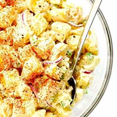 Amerikanischer Kartoffelsalat