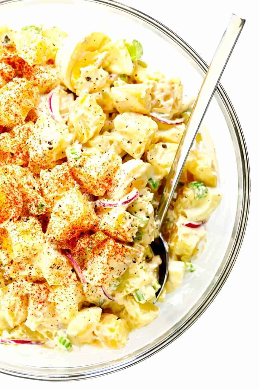 Amerikanischer Kartoffelsalat: der beste aus dem Süden