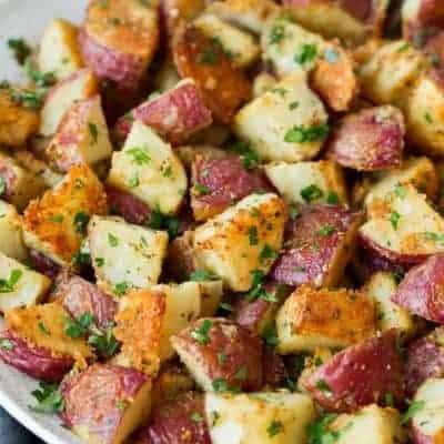 Bratkartoffeln mit Parmesan