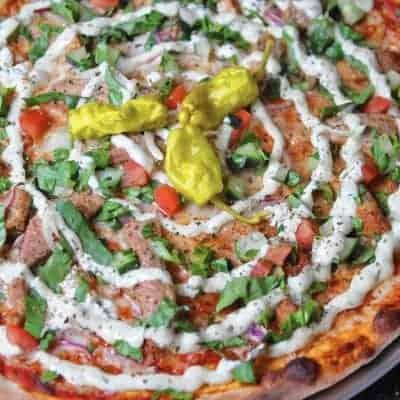 Döner Pizza