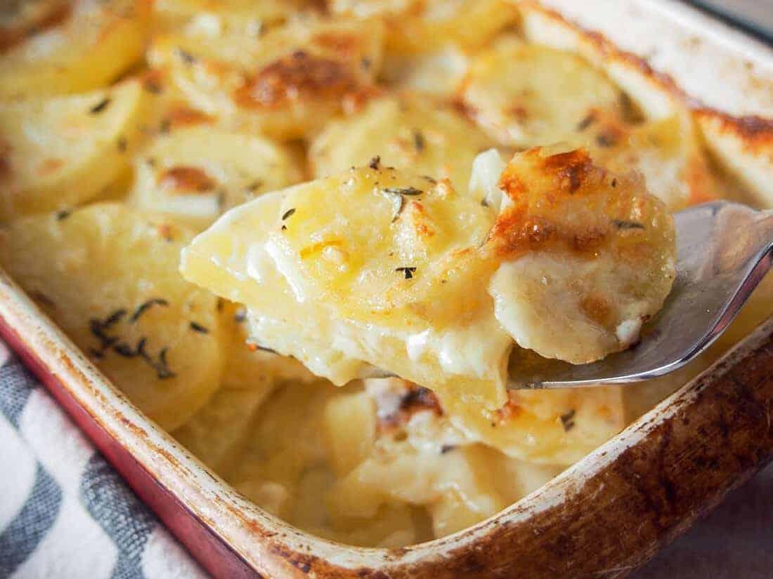 Dauphinoise Kartoffelgratin – französisch toll