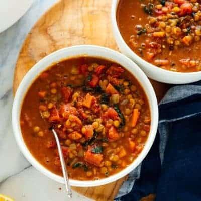 Gemüsesuppe gesund