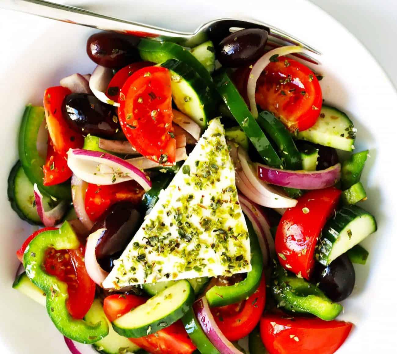 Griechischer Salat nach Originalrezept