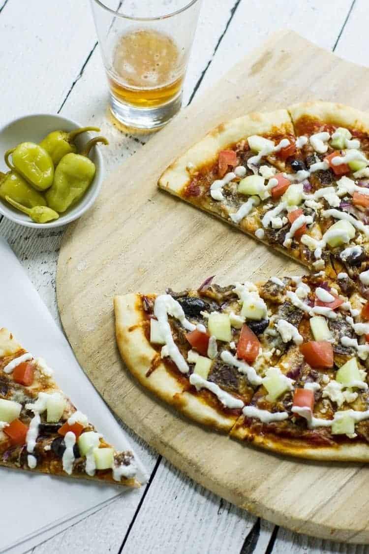 Gyros Pizza – der Geschmack Griechenlands