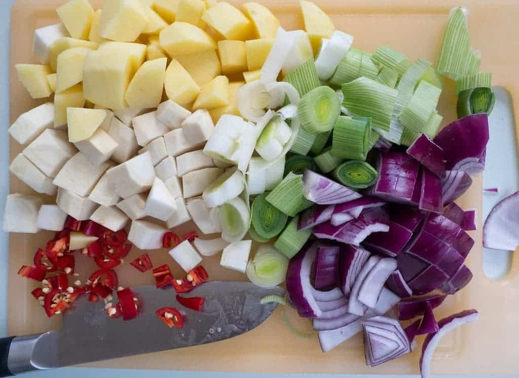 Hokkaido Suppe Gemüse