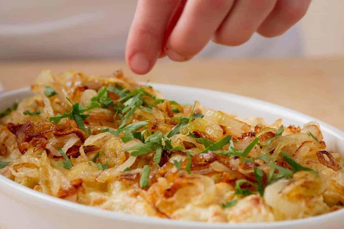 Käsespätzle mit Röstzwiebel – schnell und lecker!