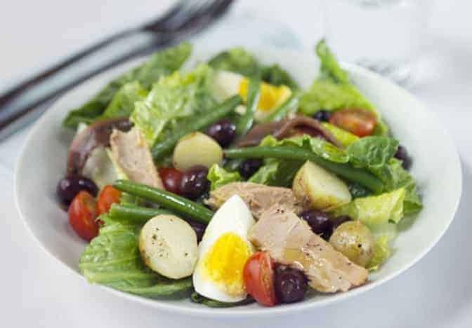 30 Min-Nizza Salat oder Niçoise Salat: genial