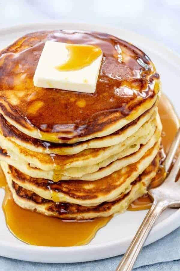 Locker flockige Pancakes selber backen