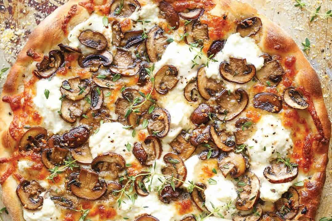 Pizza Funghi: Champignons im Focus – genial