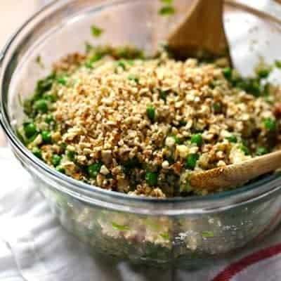 Quinoa-Salat mit Honig-Zitronen-Vinaigrette