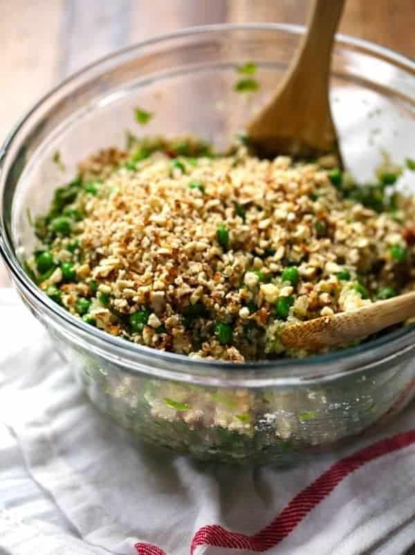 Quinoa-Salat mit Honig-Vinaigrette: lecker